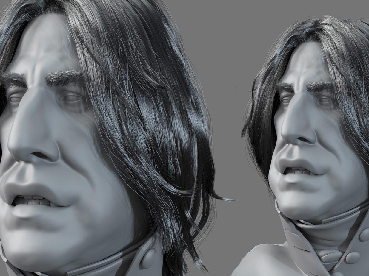 Criando cabelos com Xgen no Maya