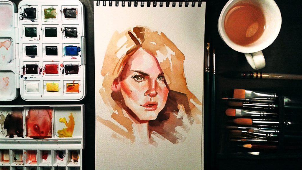 Atelier de Pintura em Aquarela