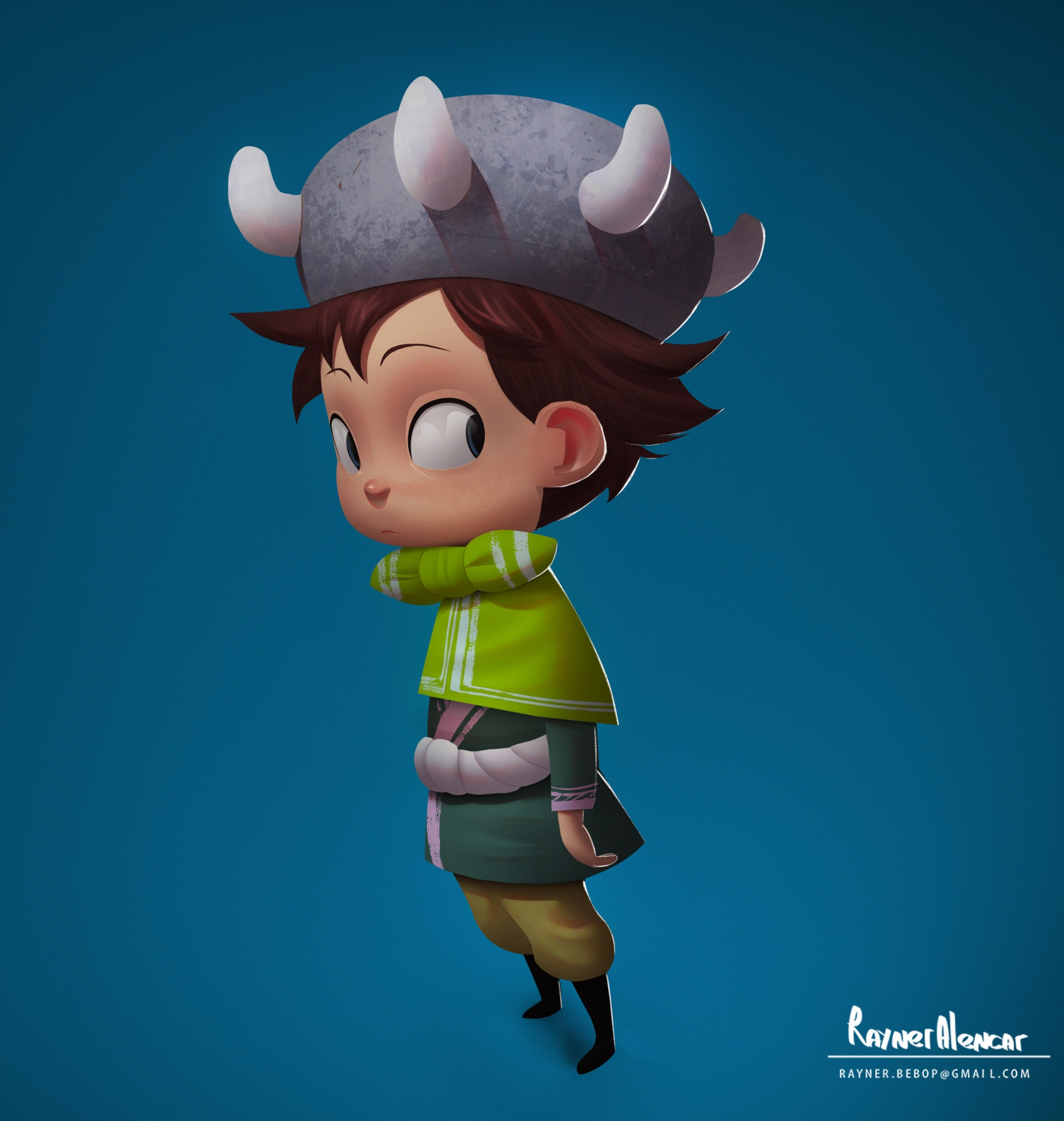 rayner-alencar-character-design