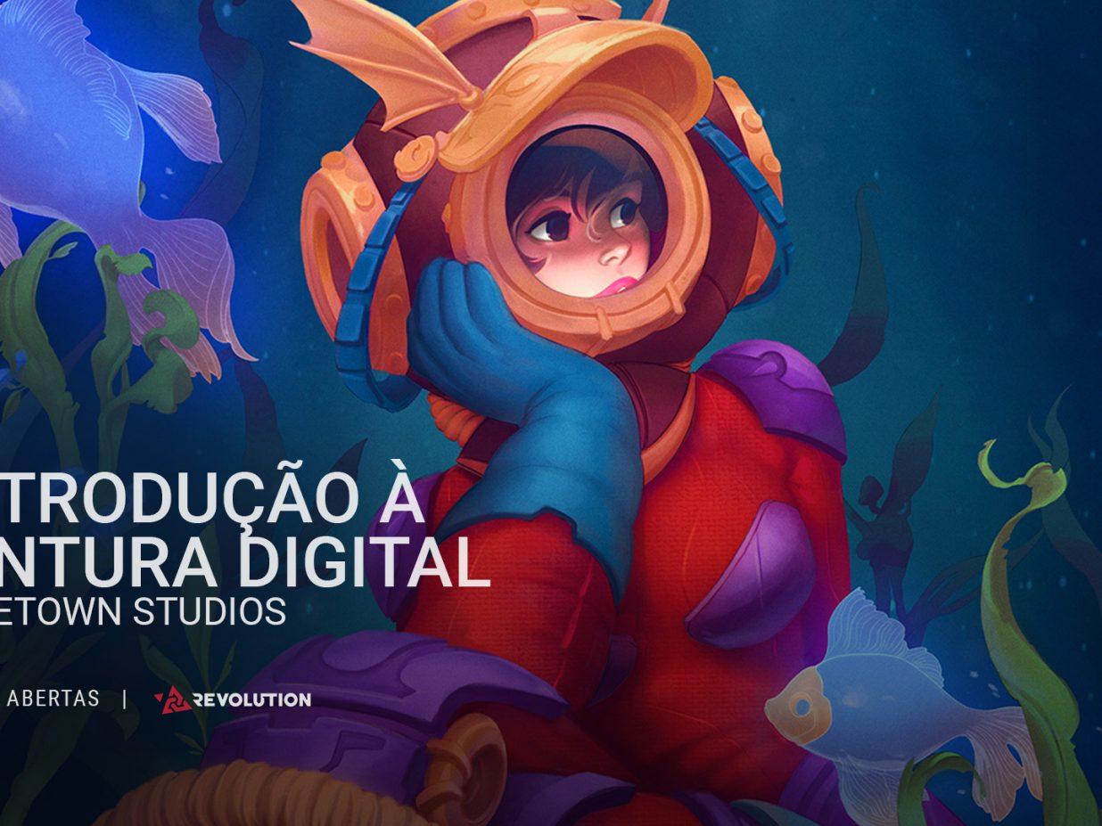 Curso Online de Introdução à Pintura Digital-DEMO