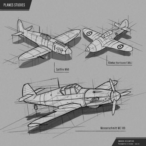 Estudo de Aviões - Amanda Assumpção