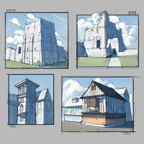 Estudos de Arquitetura - Gabriel Lopes Queiroz
